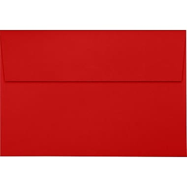 LUX A8 Invitation Envelopes (5 1/2 x 8 1/8) 1000/Pack, Ruby Red (LUX4885181000)
