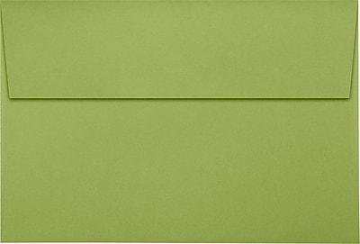 LUX A8 Invitation Envelopes (5 1/2 x 8 1/8) 50/Pack, Avocado (EX4885-27-50)