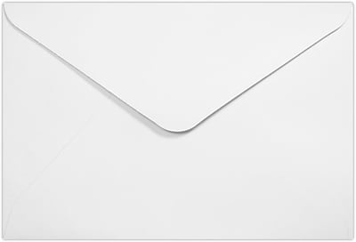 LUX #56 Mini Envelope (3 x 4 1/2) 250/Pack, 70lb. White (56MR-W-250)