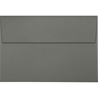 LUX A8 Invitation Envelopes (5 1/2 x 8 1/8) 1000/Pack, Smoke (LUX4885221000)