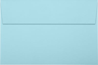 LUX A9 Invitation Envelopes (5 3/4 x 8 3/4) 1000/Pack, Pastel Blue (SH4895-01-1000)