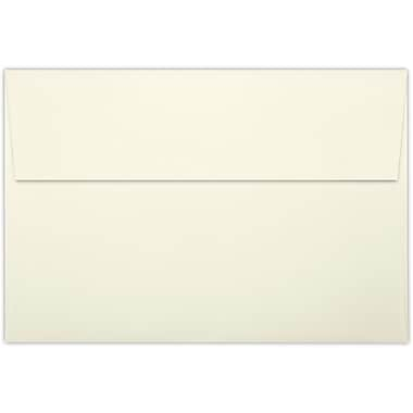 LUX A8 Invitation Envelopes (5 1/2 x 8 1/8) 50/Pack, Natural Linen (LUX-4885-NLI-50)