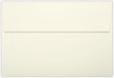 LUX A8 Invitation Envelopes (5 1/2 x 8 1/8) 50/Pack, Natural Linen (LUX-4885-NLI-50)