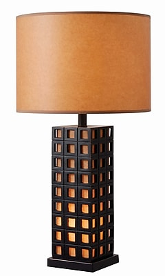 Kenroy Home Incandescent Table Lamp Oil Rubbed Bronze Finish (32756ORB)