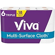 Viva Choose-A-Sheet Hardwound Paper Towels, 2-Ply, 165 Sheets/Roll, 6 Rolls/Pack (53663)
