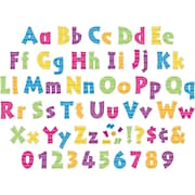 """Barker Creek Letter Pop-Outs, Kai Ola, 4"""", 255 Characters/Set (BC1729)"""