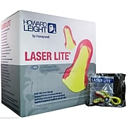 Howard Leight Laser Lite Corded Earplugs, Magenta/Yellow, 100/Box (LL-30)