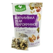 Basse Buenavibra Peak Performance Mix Single Snack Packs, Raisin The Roof Raisin Snacks (BAG29130)