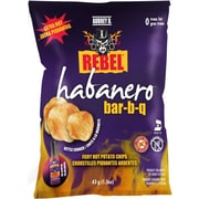 Aubrey D. Spicy Habanero BBQ Flavored Rebel Potato Chips (245701)