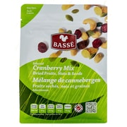Basse Selected Cranberry Mix, Dried Fruits, Nuts and Seeds (7oz.)
