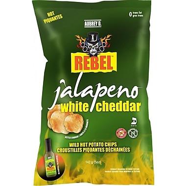 Aubrey D. Rebel Jalapeno White Cheddar Potato Chips, 4/Pack (245721)