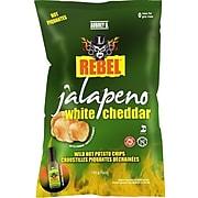Aubrey D. Rebel Jalapeno White Cheddar Potato Chips, 2/Pack (245721)