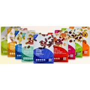 Healthy Snack Pack - Pistachios, Cashews, Smoky Almonds, Cranberries, Nut, Seed & Trail Mixes, by Basse, 9/Pack (BDL0007-CP1)