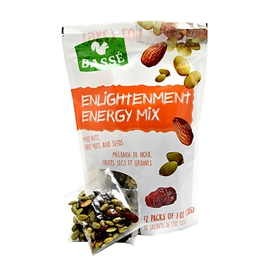 Basse Enlightenment Energy Mix Single Snack Packs, 2/Pack (BAG29120)