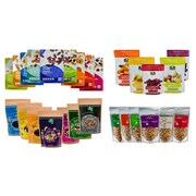 Great Snacks - Mega Pack! Healthy Dried Fruit Mixes Complete with Superfood & Nutsterz Spicy Peanut Mixes, 27/Pack (BDL0011-CP1)