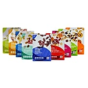 Great Snacks - Mega Pack! Healthy Dried Fruit Mixes Complete w/ Superfood & Nutsterz Spicy Peanut Mixes, 27/Pack (BDL0011-CP1)
