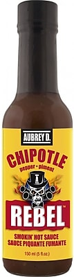 Aubrey D. Rebel Chipotle Hot Sauce, 4/Pack (257721)