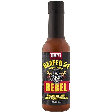 Hot, spicy, tongue tingling Reaper 51 Hot Sauce by Aubrey D., 2/Pack (257727)