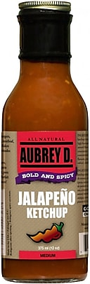 Hot, Fresh Jalapeno Ketchup by Aubrey D., 4/Pack (62001)