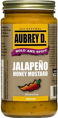Bold, Hot & Sweet Jalapeno Honey Mustard by Audrey D, 2/Pack (62003)