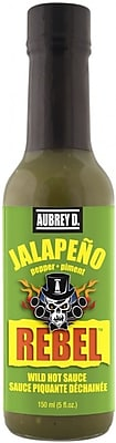 Mild Hot Sauce with a Sharp Peppery Jalapeno Flavor by Aubrey D, 8/Pack (257720)