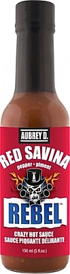 Firey Red Savina Hot Sauce by Aubrey D., 8/Pack (257724)