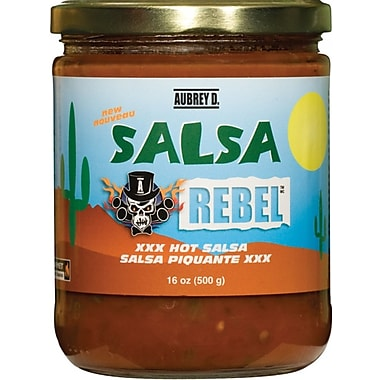 Classic Salsa - Mexican peppers, tomatoes & onions in the Red Hot Aubrey D. Salsa, (259734)