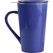 ASOBU Tea Time Ceramic Mug Set, Blue - 15 oz. (TD4-BLUE)