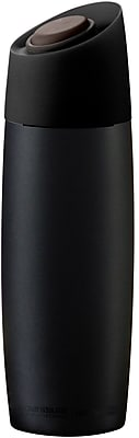 ASOBU The 5th Avenue Insulated Stainless Steel Coffee Tumbler, Black - 13 oz. (V800-BLACK)