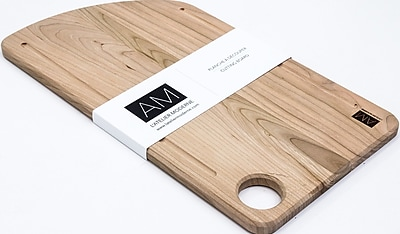 The Cerisier by L'Atelier Moderne, Cherry Wood Cutting Board 11x20 (AM-CC-1120-CB)