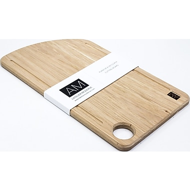 The Caryer by L'Atelier Moderne, Hickory Wood Cutting Board 11x20 (AM-HH-1120-CB)