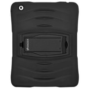 AMZER Tuffen Case Tri Layer Rugged Cover with Integrated Screen Protector for Apple iPad 2, iPad 3, iPad 4 with Retina Display