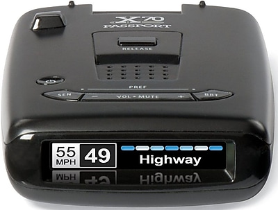 Escort Passport X70 Radar Detector (0100018-2)