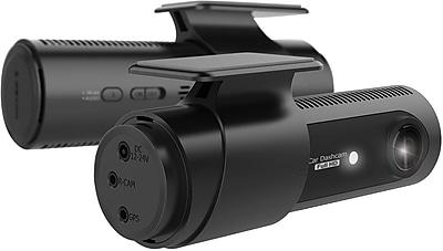 LG Innotek 2-Channel Full HD Front+Rear 1080p Dashcam, Wi-Fi 64GB (LGD521)