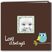 "Pioneer Baby Owl Post Bound Album 12""X12""-Blue"