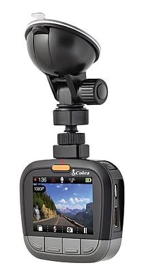 Cobra CDR855BT 1080P Dashcam, Bluetooth Smart Enabled, GPS, iRadar Alerts (CDR855BT)