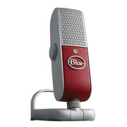 Blue Microphones Raspberry USB Mobile Condenser Microphone, Red/Gray by