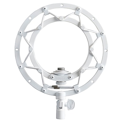Blue Microphones Ringer Vintage Style Suspension Mount for Snowball Microphone, Whiteout 24148373