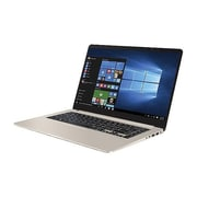 "ASUS® Vivobook S510UADB71 15.6"" Laptop, LED Backlight, Intel Core i7-7500U, 1TB HDD, 128GB SSD, 8GB RAM, WIN 10, Silver"