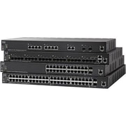 Cisco™ SG350X-48MP Managed 48-Port Gigabit PoE+ Rack Mountable Ethernet Switch, Black
