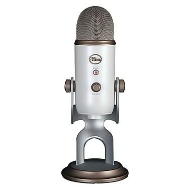 Blue Microphones Yeti USB Condenser Microphone, Vintage White