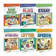 Norwood House Press A Complete Set 1: Writing Builders, Paperback, 6 Books (NW-WBPB1)