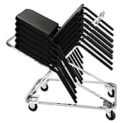 NPS Dolly For 8200 Series Music Chairs, Chrome (DY82)
