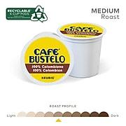 Cafe Bustelo 100% Colombian Coffee, Keurig® K-Cup® Pods, Medium Roast, 24/Box, 4 Boxes/Carton (112439)