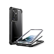 i-Blason Ares Black Rugged Case for Samsung Galaxy S21 Ultra (Galaxy-S21Ultra-Ares-Black)