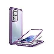 i-Blason Ares Purple Rugged Case for Samsung Galaxy S21 Ultra (Galaxy-S21Ultra-Ares-Purple)