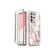 i-Blason Cosmo Marble Pink Case for Samsung Galaxy S21 Ultra (Galaxy-S21Ultra-Cosmo-Marble)
