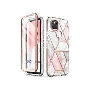 i-Blason Cosmo Marble Pink Case for Google Pixel 4a 5G (GooglePixel4A-5G-Cosmo-SP-Marble)