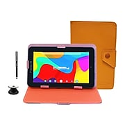 """Linsay 7"""" Tablet, 2GB RAM, 32GB, Android, Brown/Black (F7UHDBCBROWN)"""
