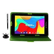 "Linsay 7"" Tablet, WiFi, 2GB RAM, 32GB, Android, Black/Green (F7UHDCGP)"
